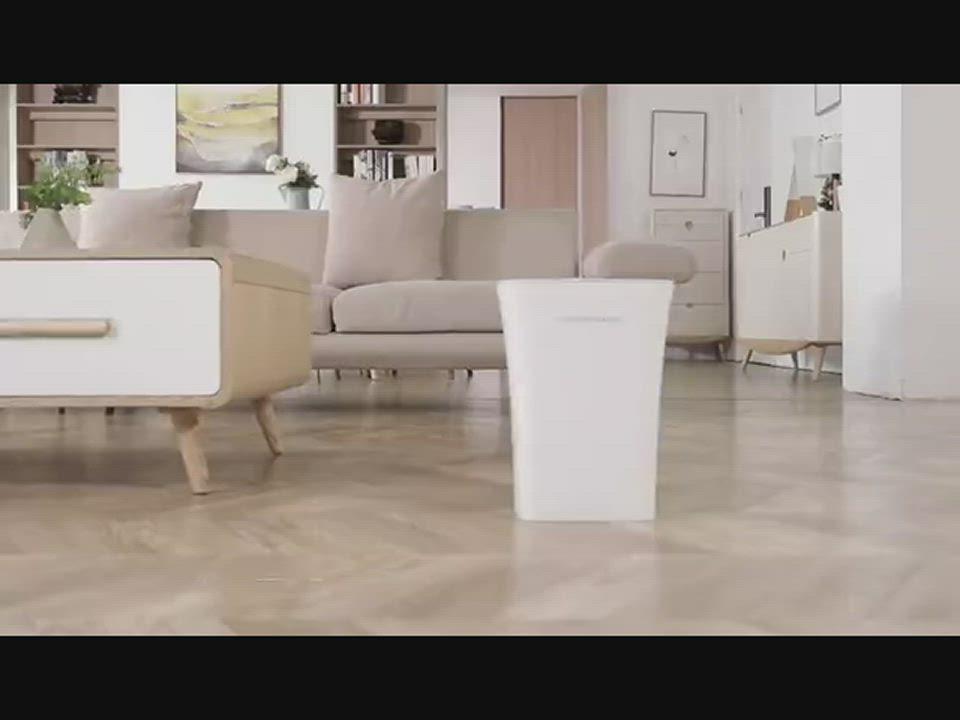 美國NINESTARS 時尚防水感應垃圾桶10L (廚衛系列) product video thumbnail