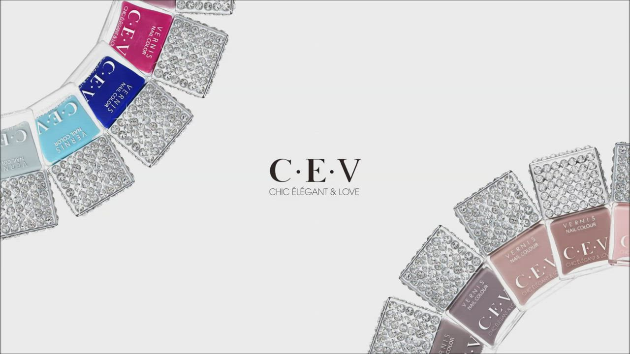 CEV超凝光感指甲油 #5046 自由藍調 (LUXE SHINE) product video thumbnail