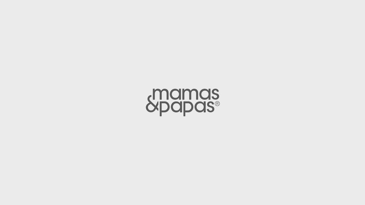 Mamas&Papas Strada雙向手推車-迷霧灰 product video thumbnail
