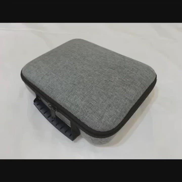 【附贈收納包】mini筋膜槍 迷你筋膜槍 小型筋膜槍 product video thumbnail