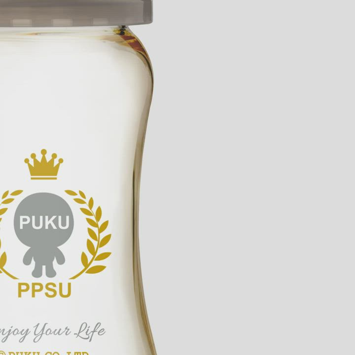 【PUKU】PPSU母乳實感寬口奶瓶280ML product video thumbnail