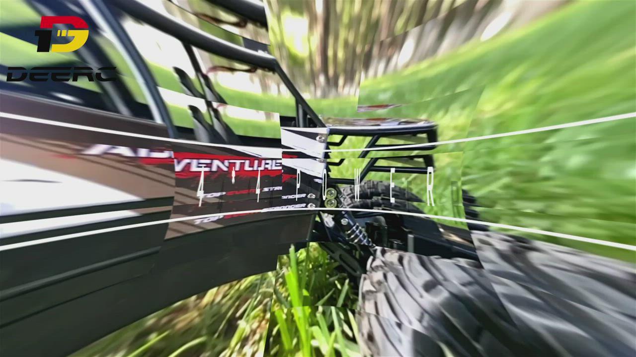 DEERC DE45 1:14 4WD 高速遙控車  雙電板 (原廠公司貨保固維修) product video thumbnail