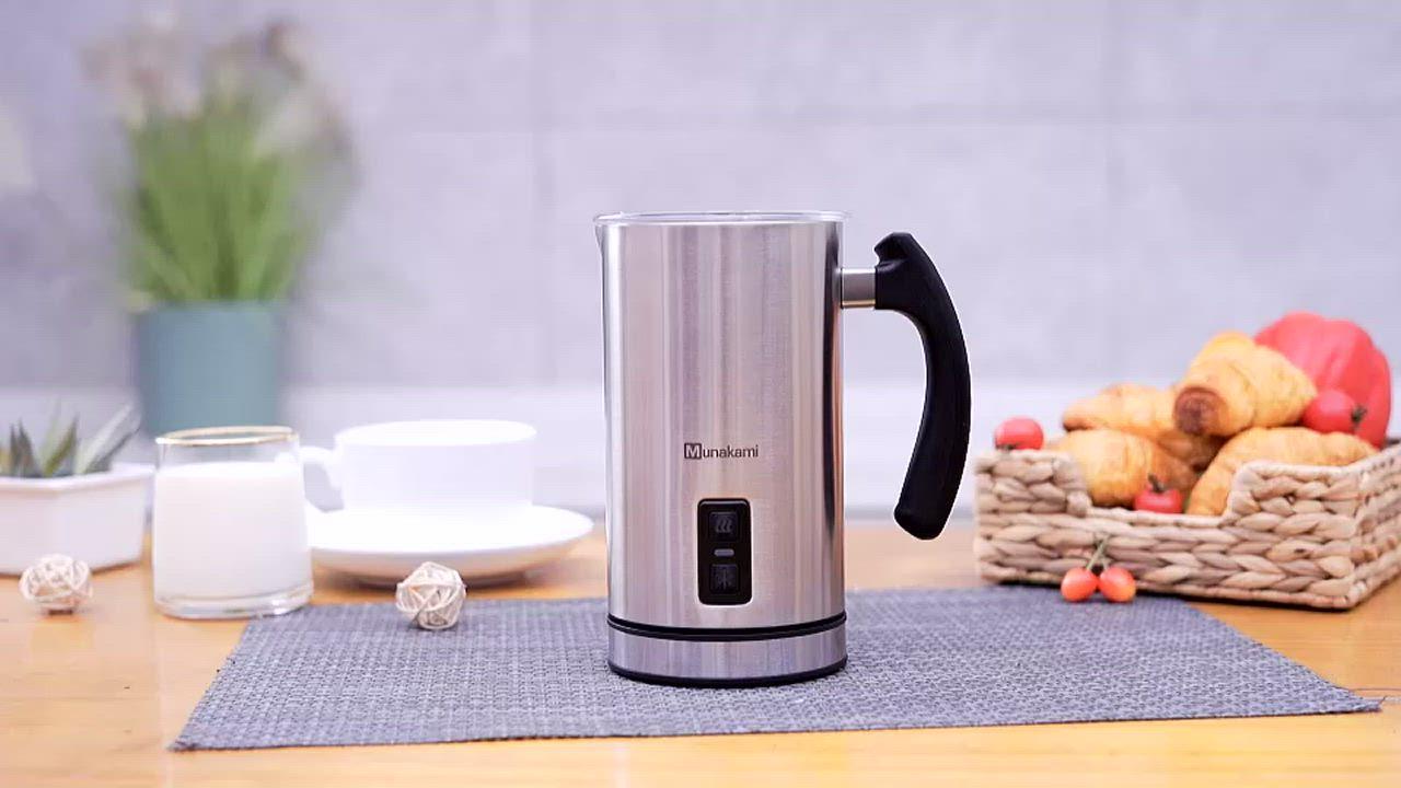 村上Munakami磁吸不銹鋼偏軸式冷熱奶泡機(MK-9A) product video thumbnail
