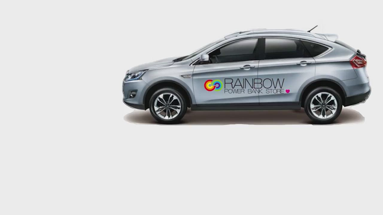 【RainBow】車/家兩用卡拉OK 高頻數位 藍芽麥克風 無線麥克風組 F-666 product video thumbnail