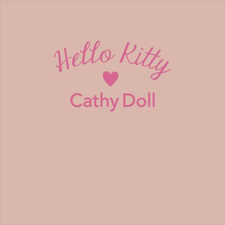 泰國CathyDoll 凱蒂娃娃 Hello Kitty 聯名彩妝 -柔霧修飾眉筆 product video thumbnail