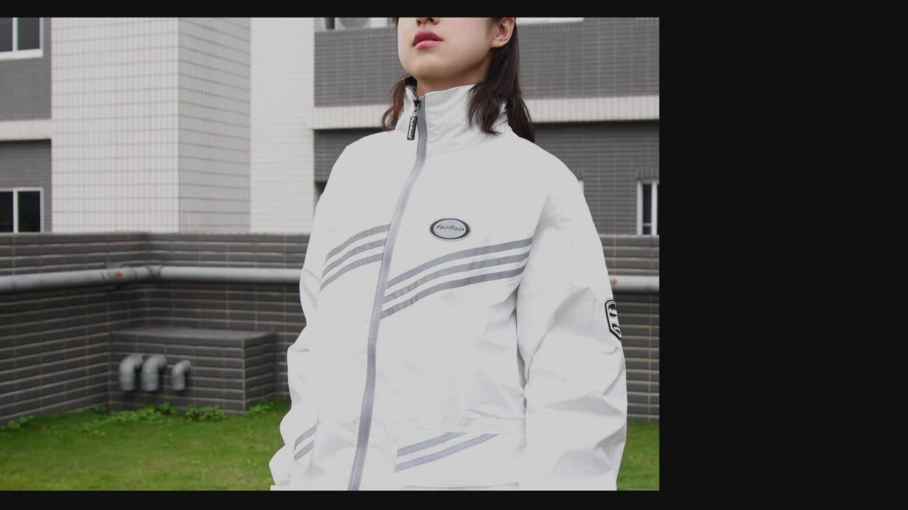 【飛銳 FarRain】新幹線時尚風雨衣(第二代) product video thumbnail