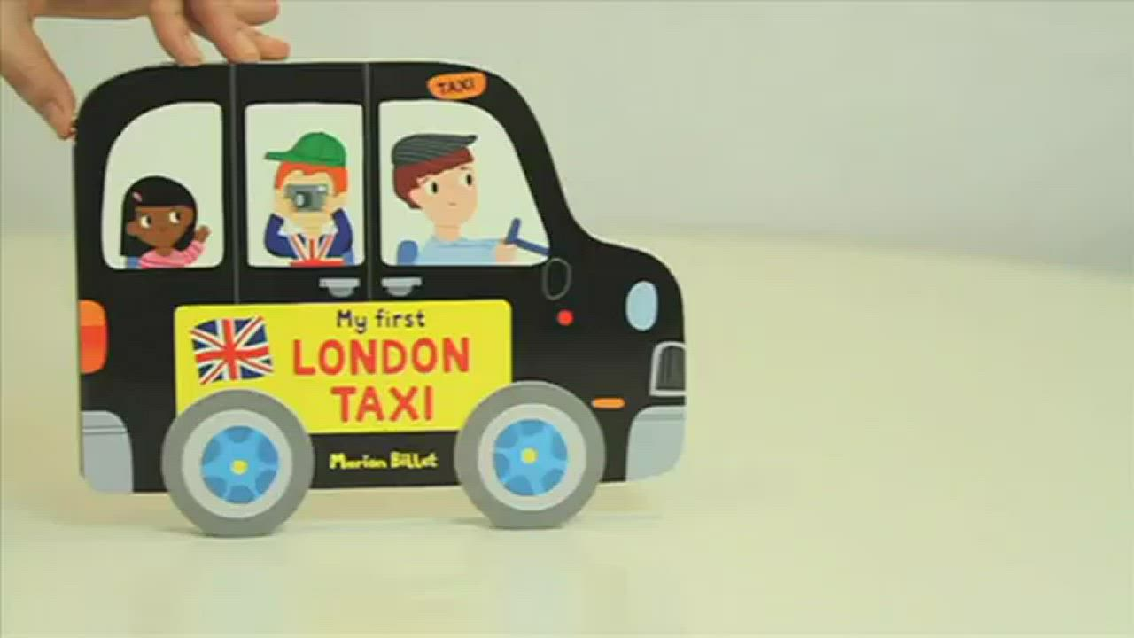 My First London Taxi 搭計程車遊倫敦輪子轉轉硬頁書 product video thumbnail
