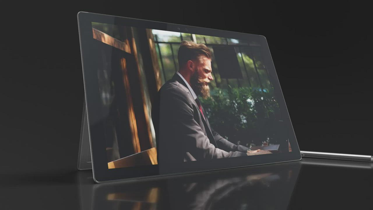北歐嚴選 Panzer Glass Surface Book 系列 13.5吋專用 玻璃保護貼 product video thumbnail