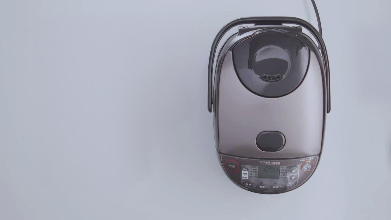 象印*6人份*日本製 黑厚釡微電腦電子鍋(NL-GAF10) product video thumbnail