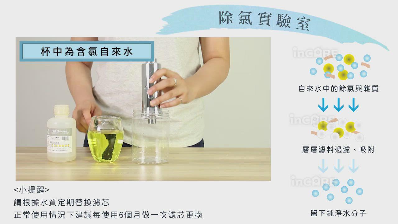 (兩入超值組) Incare 多重過濾前置水質淨化濾水器-速 product video thumbnail