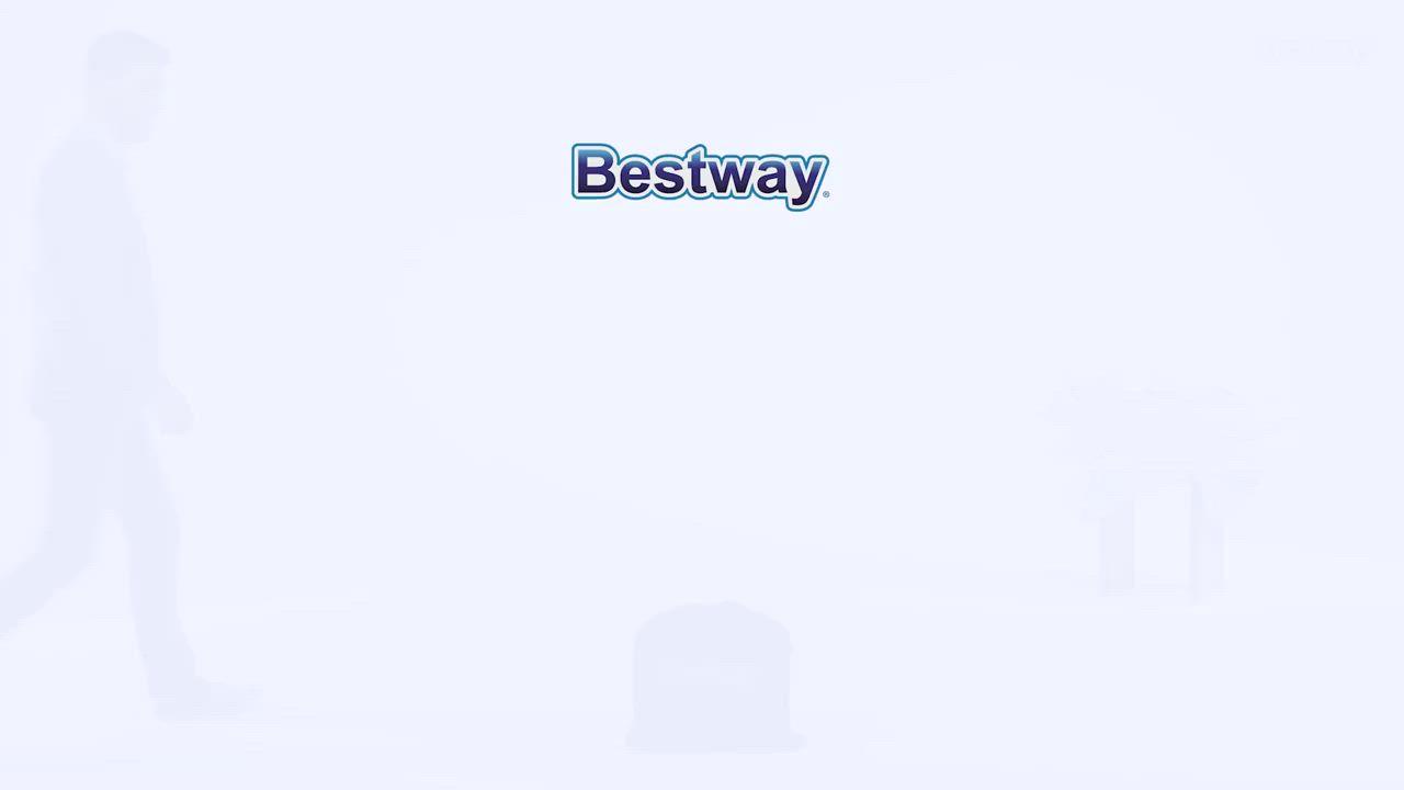 凡太奇 Bestway Twin單人絨面加高AC自動充氣床-白 67623 product video thumbnail