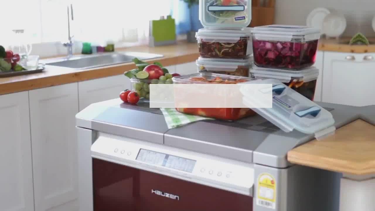 [買一送一]Glasslock 強化玻璃微波保鮮盒-圓形410ml product video thumbnail