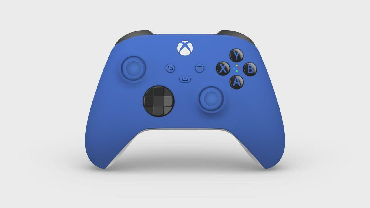 微軟Xbox 無線控制器-衝擊藍 product video thumbnail