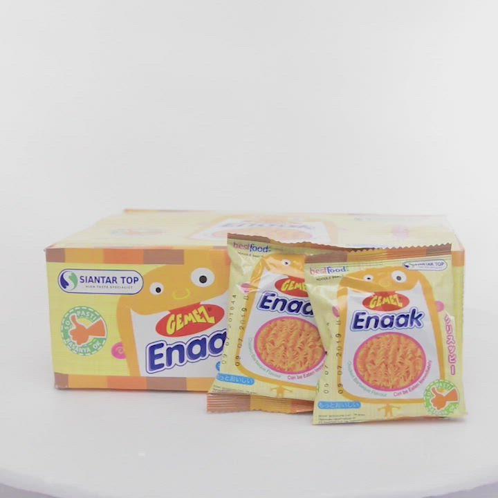 韓國Enaak 香脆點心麵隨手包1盒(16gx30包) 小雞麵 product video thumbnail