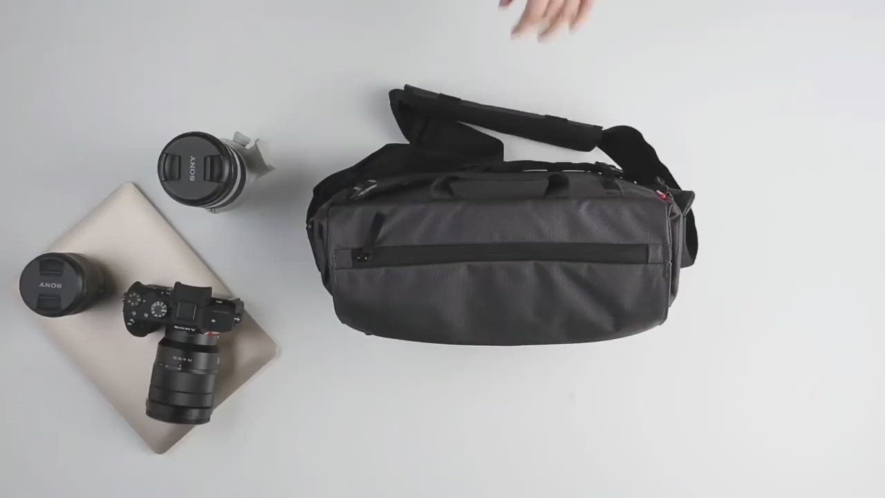 MANFROTTO 曼富圖 Manhattan Speedy-10 曼哈頓側背相機包 (公司貨) 空拍機包 郵差包 MB MN-M-SD-10 product video thumbnail