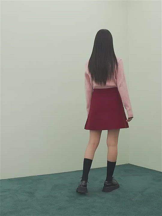 套裝 優雅氣質針織衫短裙套裝RO1164-創翊韓都 product video thumbnail