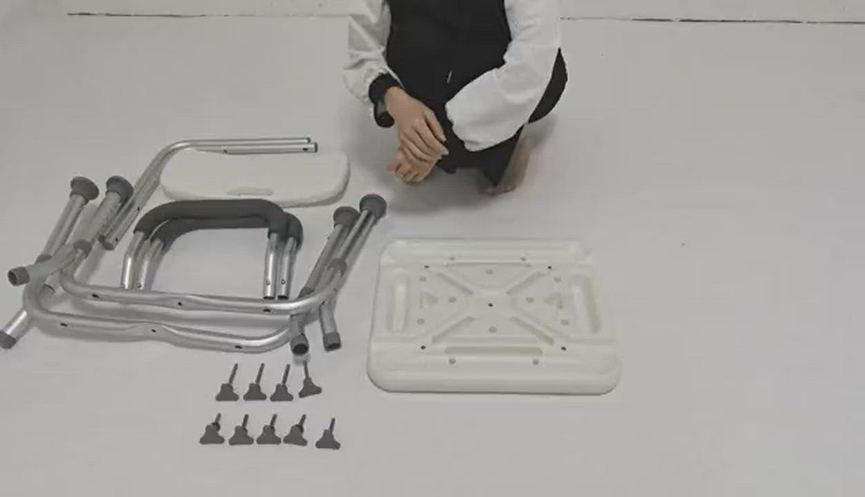 樂購 9013 有背扶手洗澡椅 product video thumbnail