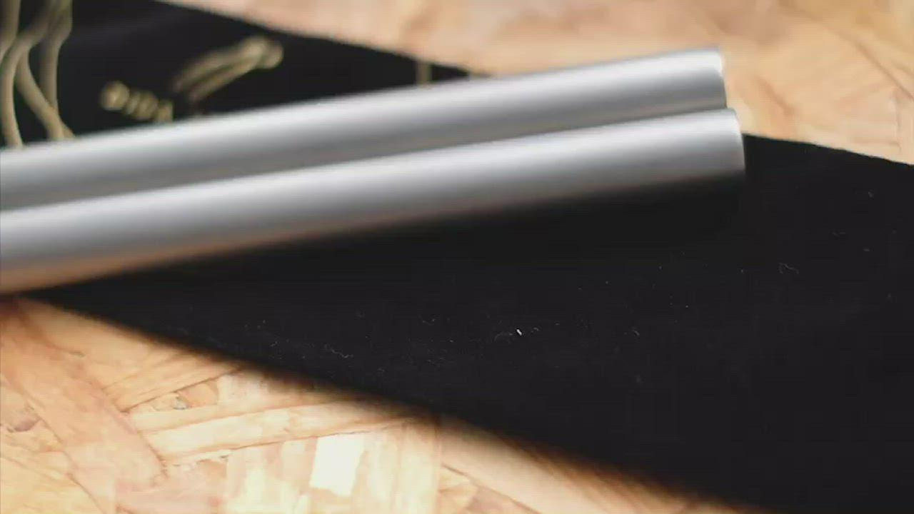 DIDA SGS雙認證鑽石鈍角純鈦吸管(E組合粗、細吸管五件組) product video thumbnail