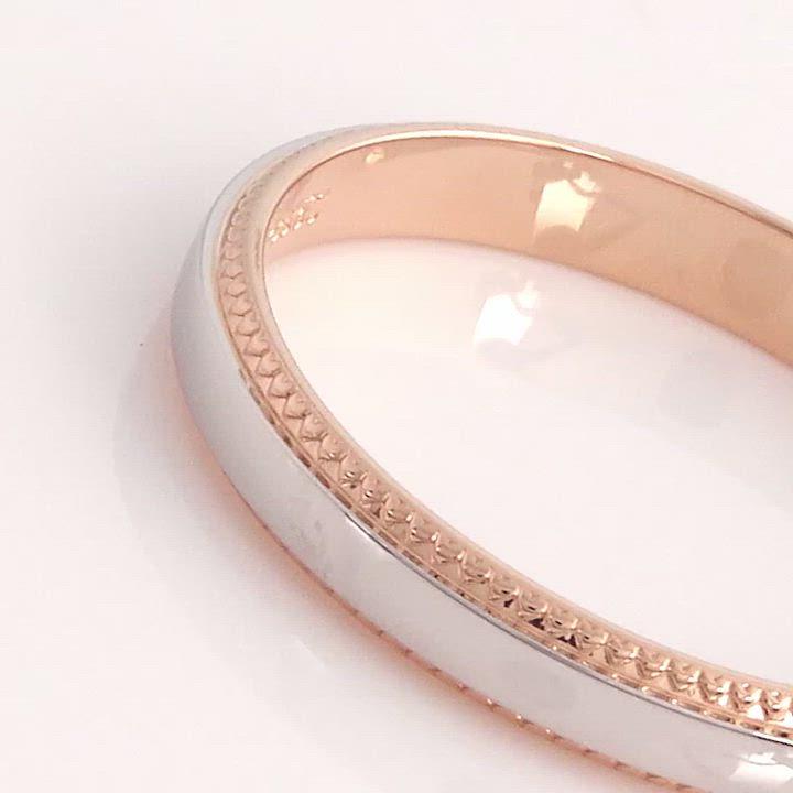 點睛品 Promessa 愛的記憶 鉑金情侶結婚戒指-女戒 product video thumbnail