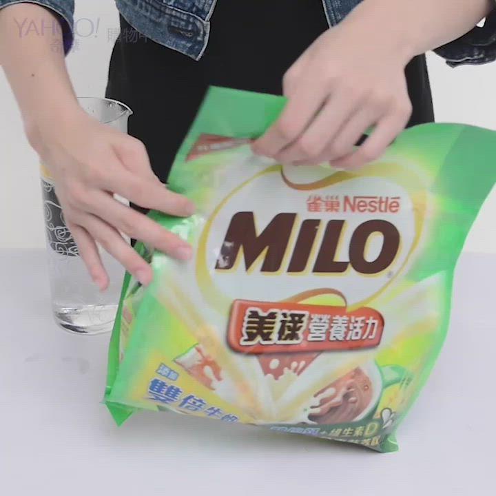 雀巢美祿三合一雙倍牛奶巧克力麥芽(30gx16入) product video thumbnail