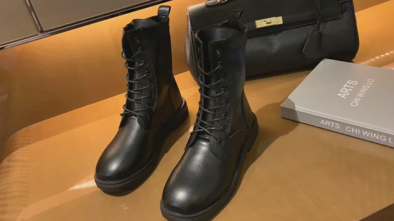KEITH-WILL時尚鞋館 花漾典藏系列中短筒靴 product video thumbnail