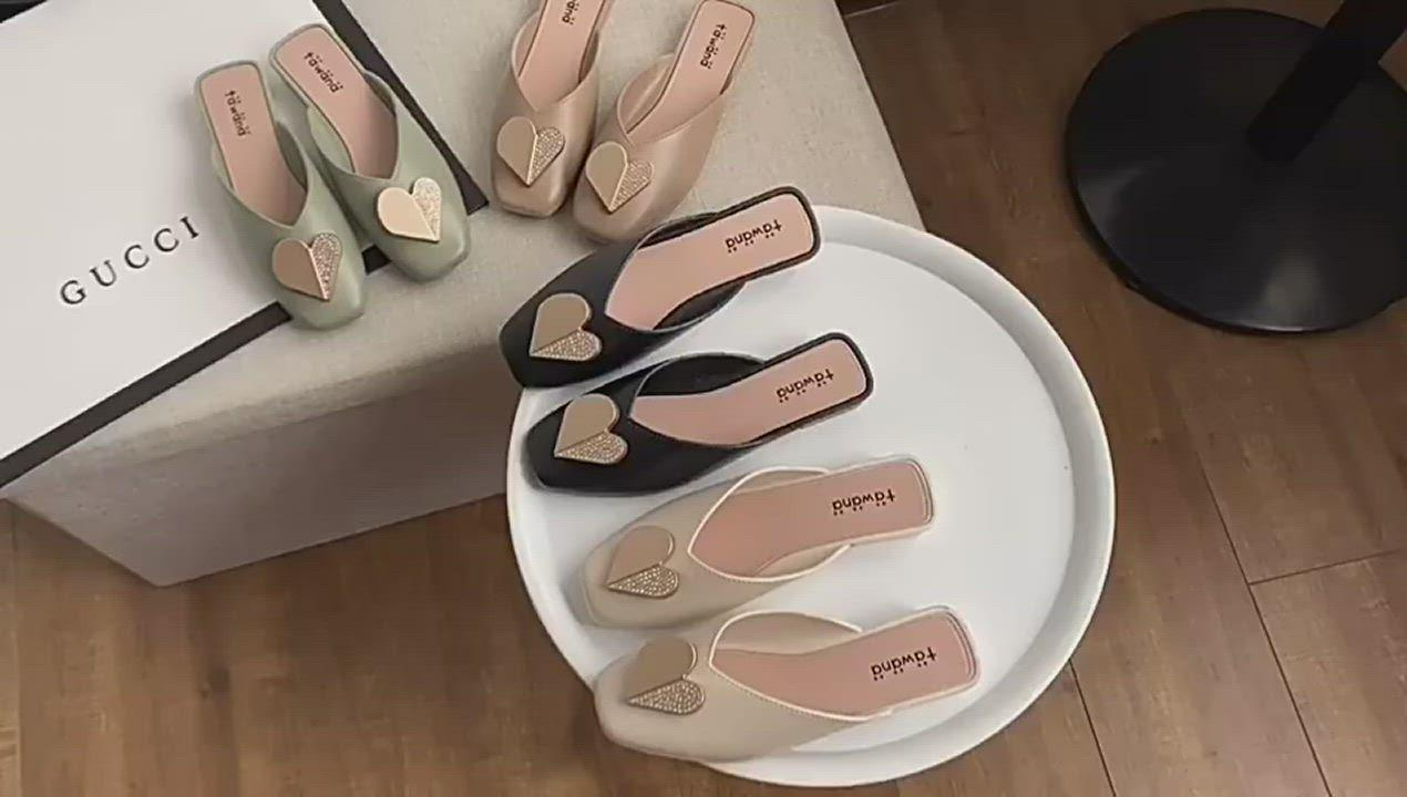 KEITH-WILL時尚鞋館-獨賣好感輕著懶人鞋(涼鞋/涼跟鞋/懶人鞋/穆勒鞋)(共3色) product video thumbnail