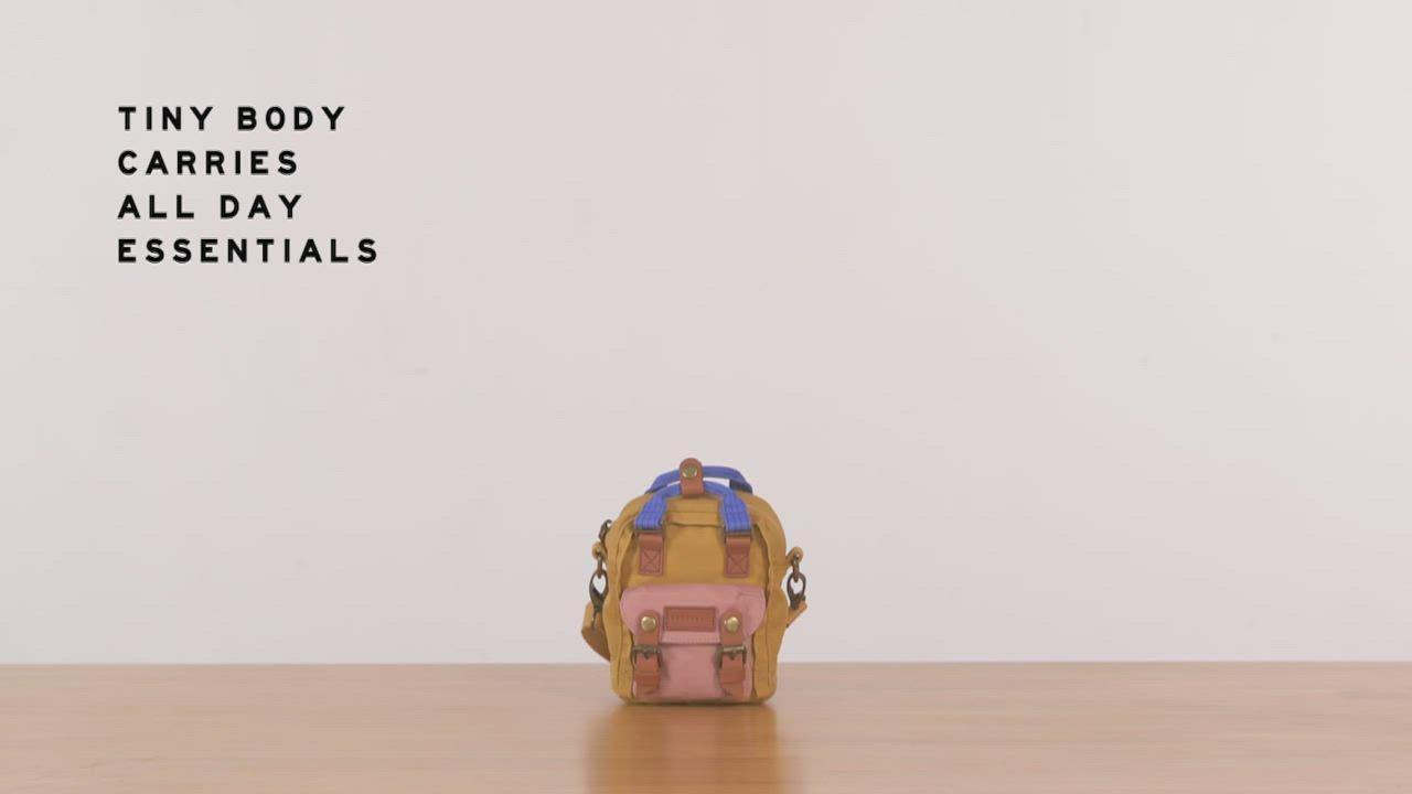【IBAOBAO愛包包】Doughnut馬卡龍Tiny側背包-夢幻獨角獸 product video thumbnail