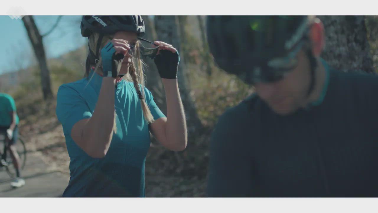 【SHIMANO】SUMIRE 女款自行車褲 黑 product video thumbnail