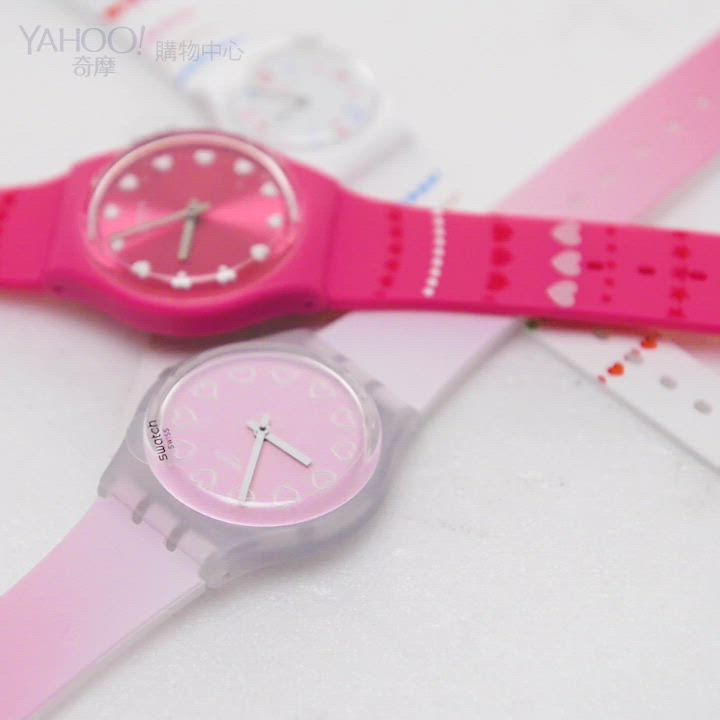 Swatch  Love is in the Air系列HERZLICH甜蜜心意 product video thumbnail