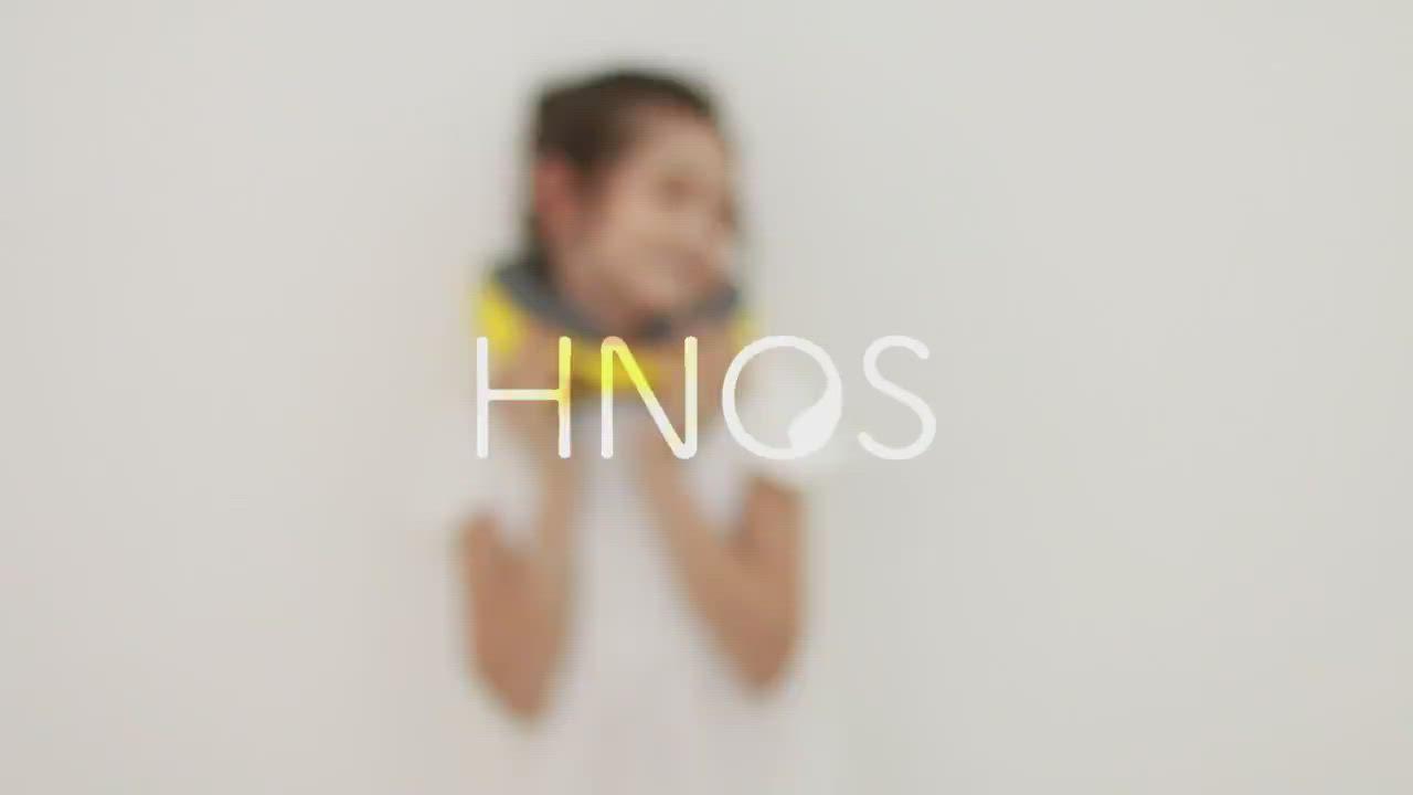 【HNOS】多用途記憶棉護頸兒童午睡枕 - 午休旅行好夥伴 天空藍 product video thumbnail