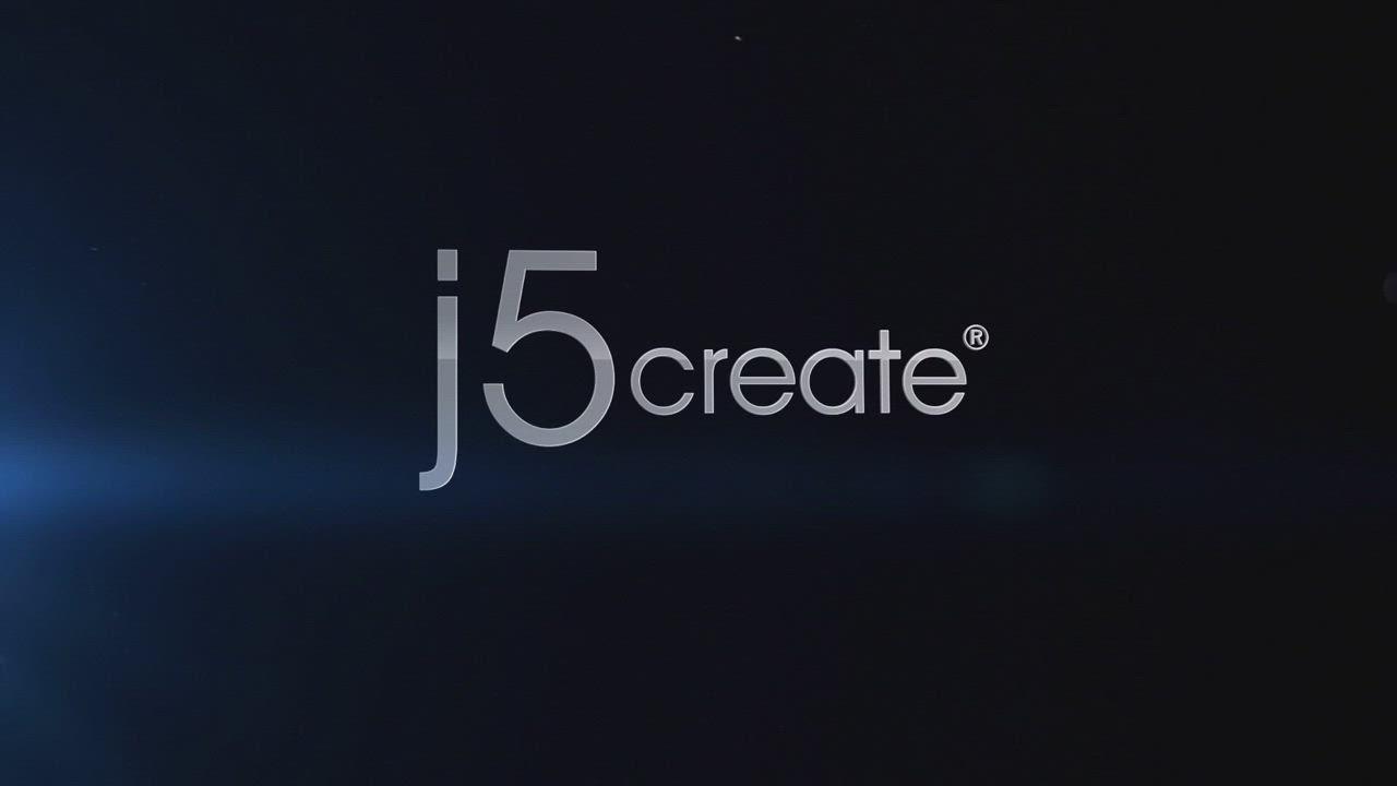 j5create 10W雙線圈木紋無線快充座-JUPW1102W product video thumbnail