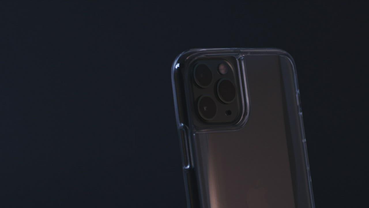LINKASE PRO iPhone 11 Pro 大猩猩曲面玻璃軍規防摔保護殼-激淨透 product video thumbnail