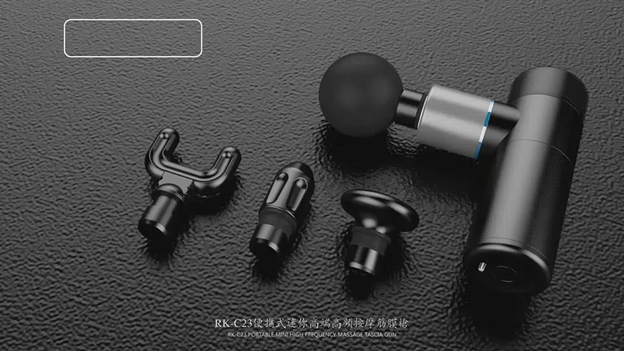 【Smart】迷你隨身型筋膜按摩槍 product video thumbnail
