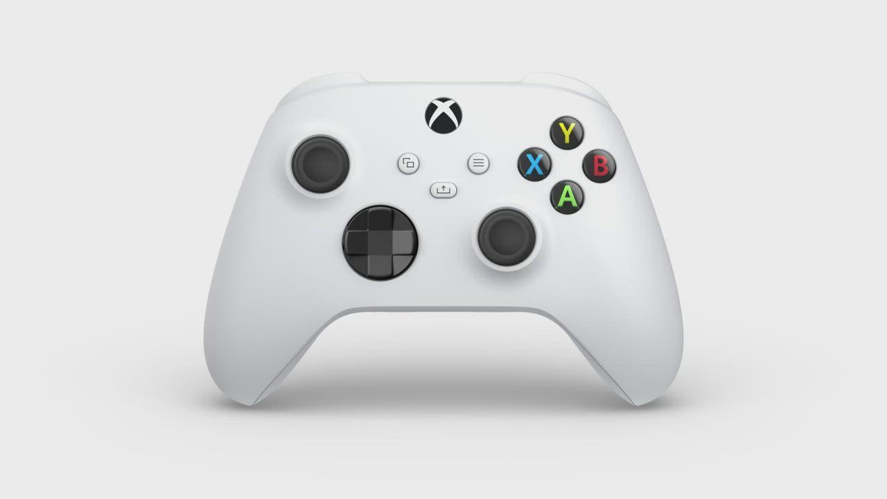 微軟Xbox 無線控制器-冰雪白 product video thumbnail