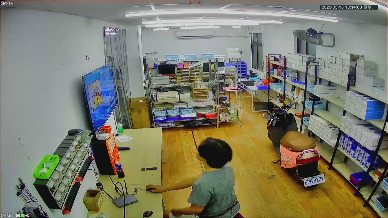 [ 4路2鏡頭組合 ] 500萬 C4超夜視1944P 監視器攝影機 監控設備 監視器套裝 監視器套餐 安裝 product video thumbnail