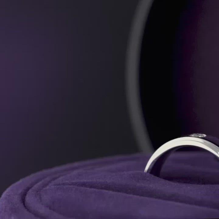 點睛品 Infini Love Diamond-婚嫁系列 鉑金鑽石對戒戒指(女戒) product video thumbnail