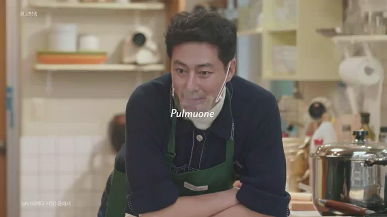 韓味不二【紅】圃美多 Pulmuone 牛肉香菇湯麵(108.8g*4包/袋) 偶然成為社長 同款拉麵 product video thumbnail