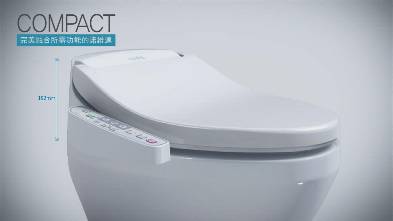 【韓國 novita】諾維達智能溫水洗淨便座 BI-304T product video thumbnail
