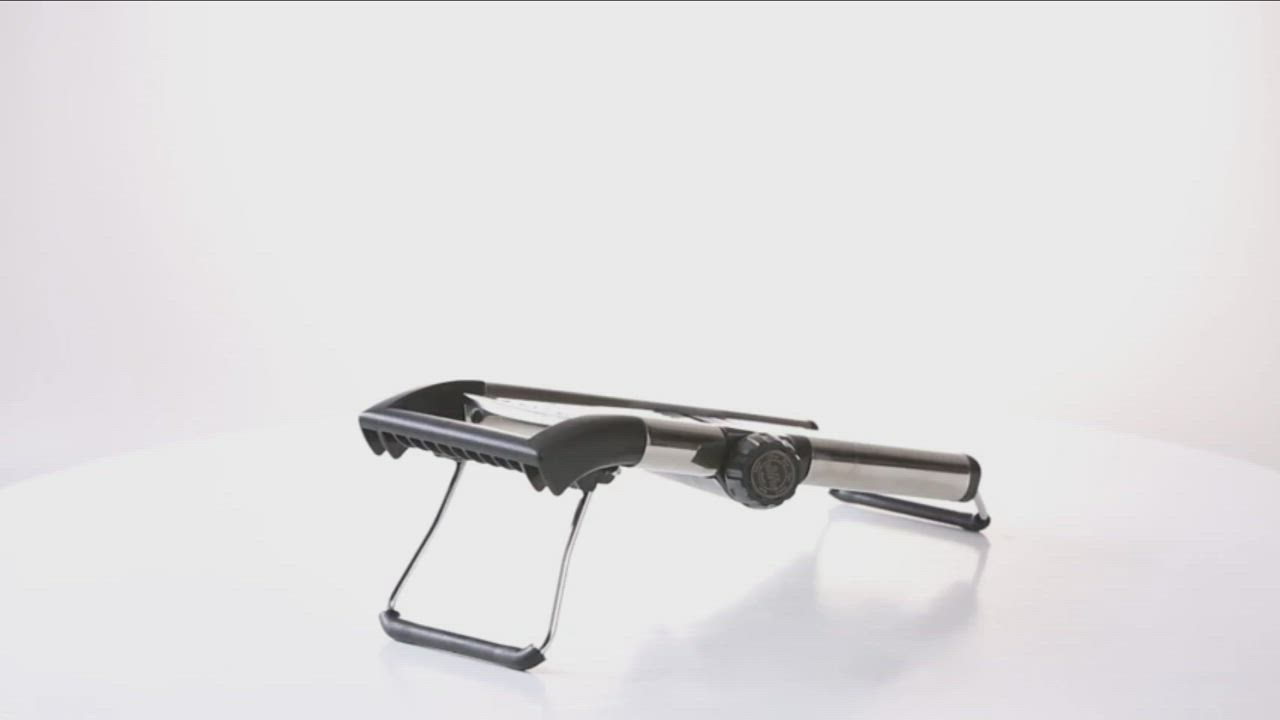 美國AROMA 多功能304不鏽鋼蔬果切片器ASL-001 product video thumbnail