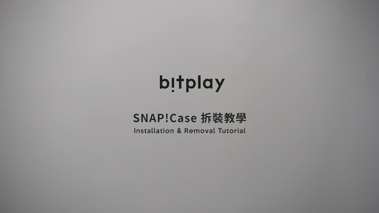 bitplay SNAP! iPhone 11 Pro 相機快門鍵全包覆軍規防摔相機殼-黑 product video thumbnail