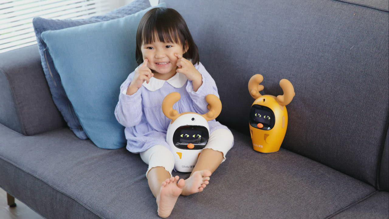 Wudyi寶寶伴讀學習機-小鹿款 product video thumbnail