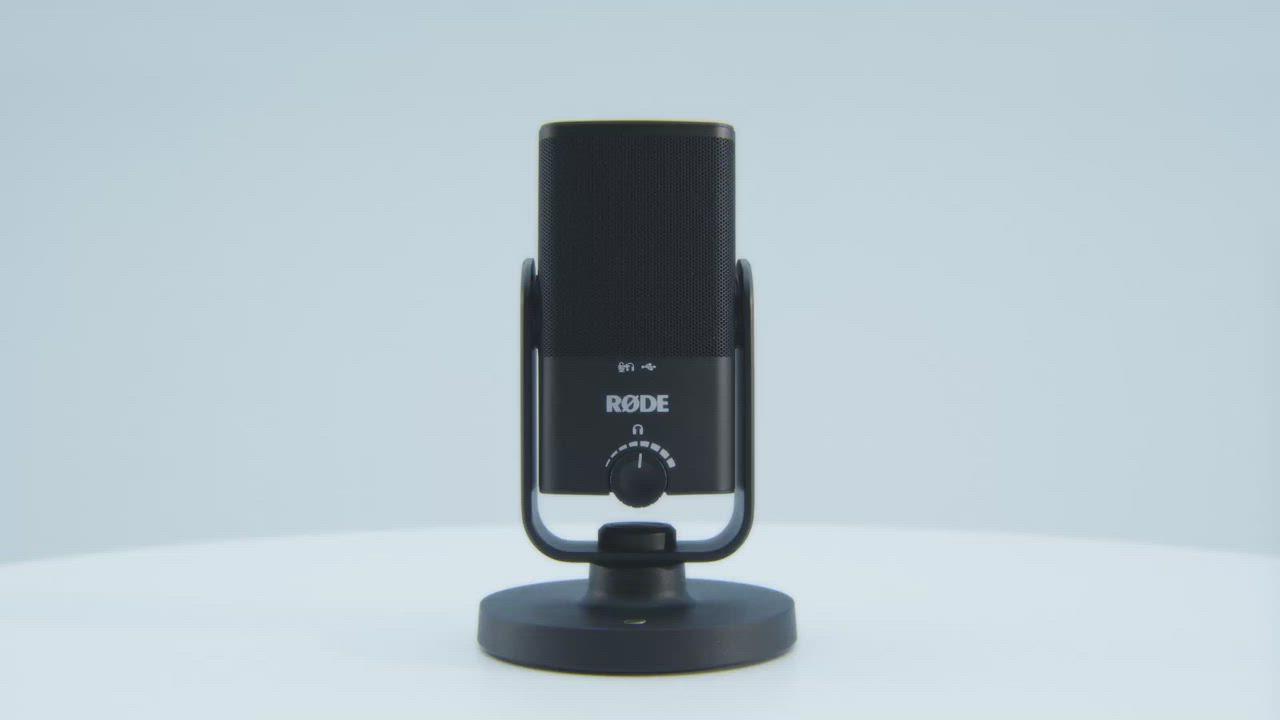 RODE 羅德 NT-USB Mini 迷你 USB 電容麥克風 (公司貨) RD NTUSBMINI 電腦麥克風 適合錄音 直播 網紅 播客 product video thumbnail