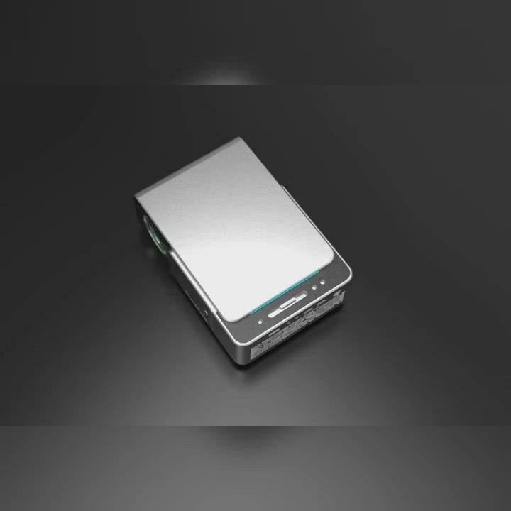 LGS 原廠高階 T6微型投影機 HD720P 手機無線投影 最高支援1080P product video thumbnail
