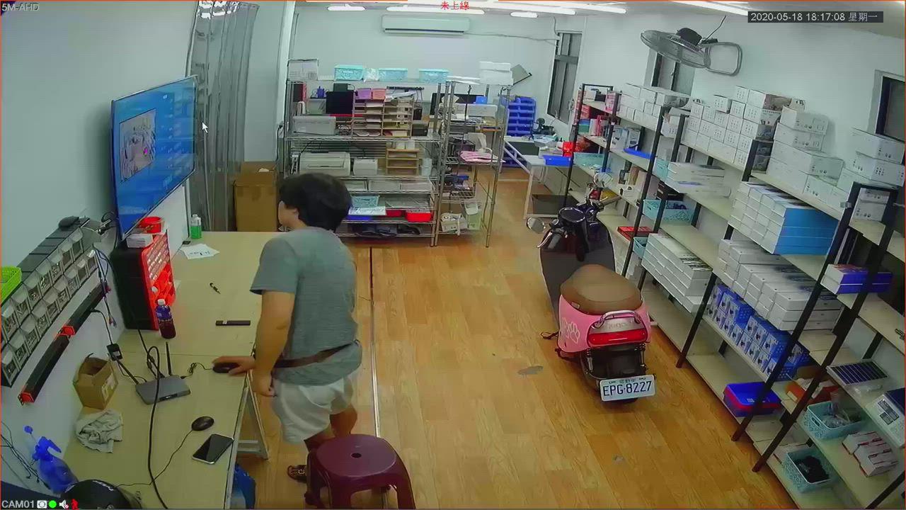 [ 8路5鏡頭組合 ] 500萬 C3超高清1944P 監視器攝影機 監控設備 監視器套裝 監視器套餐 安裝 product video thumbnail