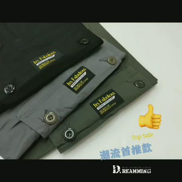 Dreamming 質感輕薄多口袋伸縮休閒長褲 工裝褲 工作褲-共三色 product video thumbnail