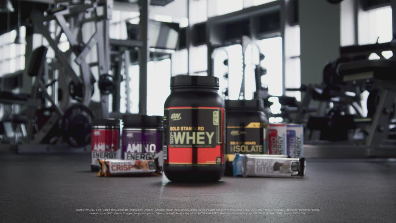[美國 ON] 金牌 WHEY 乳清蛋白(5磅/罐) product video thumbnail