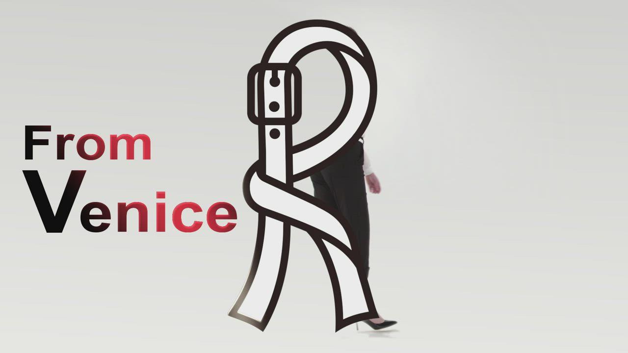 ROBERTA諾貝達 商務紳士 條紋平面西裝褲 深藍 product video thumbnail
