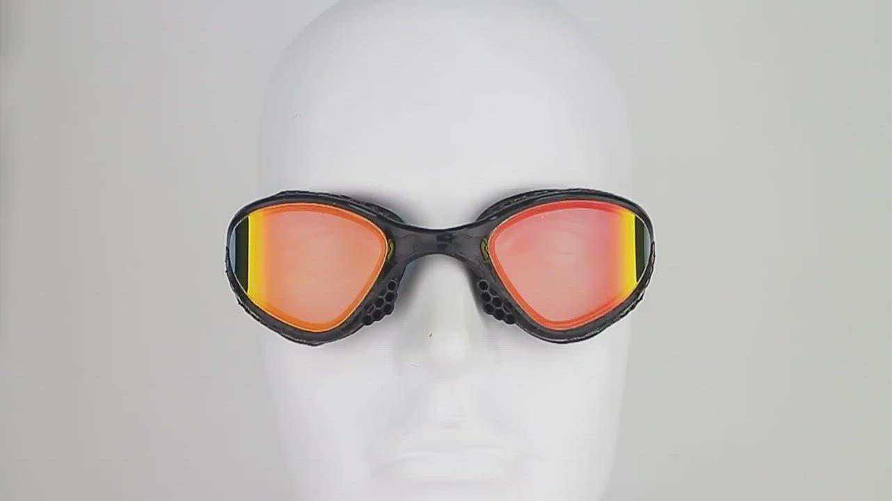 iron3 蜂巢式防霧抗UV電鍍運動泳鏡 VR-945 product video thumbnail