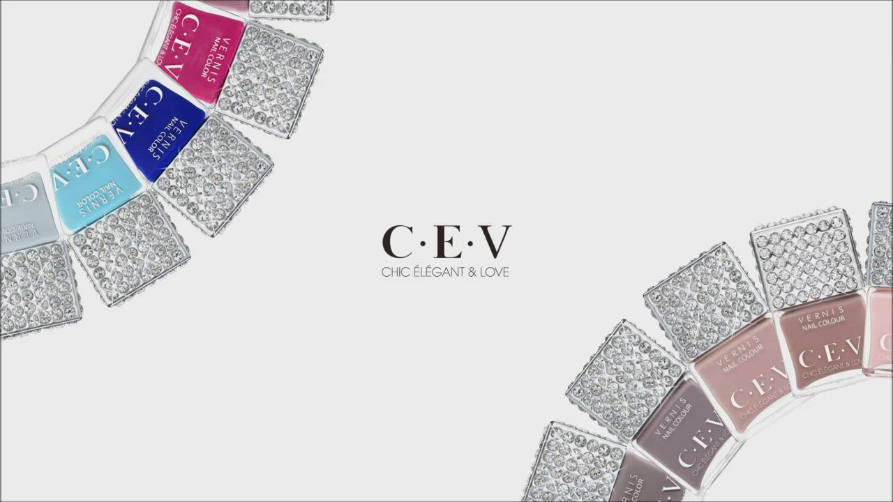 CEV超凝光感指甲油 #5901 紅寶石 (LUXE SHINE) product video thumbnail